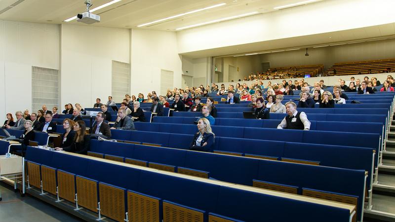 KNF-päivät 2014 yleisöä